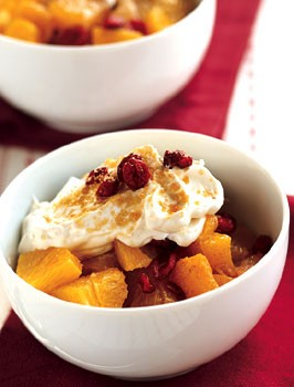 Citrus Salad with Ginger Yogurt