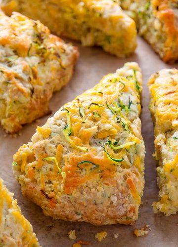 zucchini ched scones 1