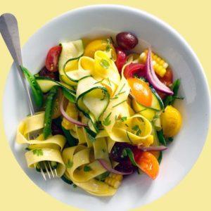 farmers-market-vegetarian-pappardelle-pasta-Gourmet-082217